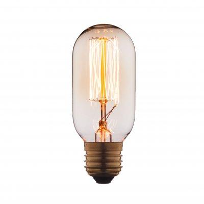 Ретро лампа Loft it 4540-SCЛампы накаливания ретро стиля<br>В интернет-магазине «Светодом» можно купить не только люстры и светильники, но и лампочки. В нашем каталоге представлены светодиодные, галогенные, энергосберегающие модели и лампы накаливания. В ассортименте имеются изделия разной мощности, поэтому у нас Вы сможете приобрести все необходимое для освещения. <br> Лампа Loft it 4540-SC обеспечит отличное качество освещения. При покупке ознакомьтесь с параметрами в разделе «Характеристики», чтобы не ошибиться в выборе. Там же указано, для каких осветительных приборов Вы можете использовать лампу Loft it 4540-SCLoft it 4540-SC. <br> Для оформления покупки воспользуйтесь «Корзиной». При наличии вопросов Вы можете позвонить нашим менеджерам по одному из контактных номеров. Мы доставляем заказы в Москву, Екатеринбург и другие города России.<br><br>Тип цоколя: E27<br>MAX мощность ламп, Вт: 40