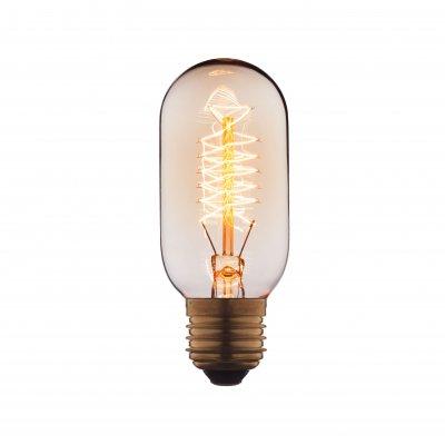 Ретро лампа Loft it 4540-SРетро лампы<br>В интернет-магазине «Светодом» можно купить не только люстры и светильники, но и лампочки. В нашем каталоге представлены светодиодные, галогенные, энергосберегающие модели и лампы накаливания. В ассортименте имеются изделия разной мощности, поэтому у нас Вы сможете приобрести все необходимое для освещения. <br> Лампа Loft it 4540-S обеспечит отличное качество освещения. При покупке ознакомьтесь с параметрами в разделе «Характеристики», чтобы не ошибиться в выборе. Там же указано, для каких осветительных приборов Вы можете использовать лампу Loft it 4540-SLoft it 4540-S. <br> Для оформления покупки воспользуйтесь «Корзиной». При наличии вопросов Вы можете позвонить нашим менеджерам по одному из контактных номеров. Мы доставляем заказы в Москву, Екатеринбург и другие города России.<br><br>Тип цоколя: E27<br>MAX мощность ламп, Вт: 40