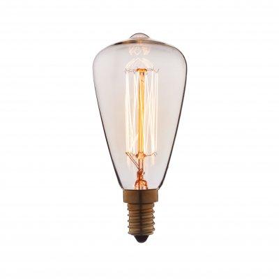 Ретро лампа Loft it 4860-FРетро лампы<br>В интернет-магазине «Светодом» можно купить не только люстры и светильники, но и лампочки. В нашем каталоге представлены светодиодные, галогенные, энергосберегающие модели и лампы накаливания. В ассортименте имеются изделия разной мощности, поэтому у нас Вы сможете приобрести все необходимое для освещения. <br> Лампа Loft it 4860-F обеспечит отличное качество освещения. При покупке ознакомьтесь с параметрами в разделе «Характеристики», чтобы не ошибиться в выборе. Там же указано, для каких осветительных приборов Вы можете использовать лампу Loft it 4860-FLoft it 4860-F. <br> Для оформления покупки воспользуйтесь «Корзиной». При наличии вопросов Вы можете позвонить нашим менеджерам по одному из контактных номеров. Мы доставляем заказы в Москву, Екатеринбург и другие города России.<br><br>Тип цоколя: E14<br>MAX мощность ламп, Вт: 60