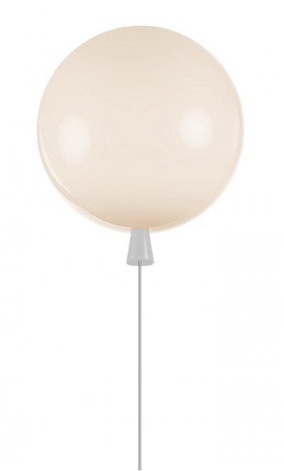Светильник воздушный шар белый Loft it 5055C/Mwhite 30смсовременные потолочные люстры модерн<br>Компания «Светодом» предлагает широкий ассортимент люстр от известных производителей. Представленные в нашем каталоге товары выполнены из современных материалов и обладают отличным качеством. Благодаря широкому ассортименту Вы сможете найти у нас люстру под любой интерьер. Мы предлагаем как классические варианты, так и современные модели, отличающиеся лаконичностью и простотой форм. <br>Стильная люстра Loft it 5055C/Myellow станет украшением любого дома. Эта модель от известного производителя не оставит равнодушным ценителей красивых и оригинальных предметов интерьера. Люстра Loft it 5055C/Myellow обеспечит равномерное распределение света по всей комнате. При выборе обратите внимание на характеристики, позволяющие приобрести наиболее подходящую модель. <br>Купить понравившуюся люстру по доступной цене Вы можете в интернет-магазине «Светодом». Мы предлагаем доставку не только по Москве и Екатеринбурге, но и по всей России.<br><br>Установка на натяжной потолок: Да<br>S освещ. до, м2: 3<br>Тип цоколя: E27<br>Цвет арматуры: Белый<br>Количество ламп: 1<br>MAX мощность ламп, Вт: 13