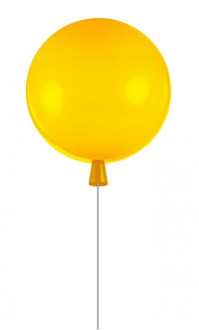 Светильник воздушный шар желтый Loft it 5055C/Myellow 30смсовременные потолочные люстры модерн<br>Компания «Светодом» предлагает широкий ассортимент люстр от известных производителей. Представленные в нашем каталоге товары выполнены из современных материалов и обладают отличным качеством. Благодаря широкому ассортименту Вы сможете найти у нас люстру под любой интерьер. Мы предлагаем как классические варианты, так и современные модели, отличающиеся лаконичностью и простотой форм. <br>Стильная люстра Loft it 5055C/Sgreen станет украшением любого дома. Эта модель от известного производителя не оставит равнодушным ценителей красивых и оригинальных предметов интерьера. Люстра Loft it 5055C/Sgreen обеспечит равномерное распределение света по всей комнате. При выборе обратите внимание на характеристики, позволяющие приобрести наиболее подходящую модель. <br>Купить понравившуюся люстру по доступной цене Вы можете в интернет-магазине «Светодом». Мы предлагаем доставку не только по Москве и Екатеринбурге, но и по всей России.<br><br>Установка на натяжной потолок: Да<br>S освещ. до, м2: 3<br>Тип цоколя: E27<br>Цвет арматуры: Желтый<br>Количество ламп: 1<br>MAX мощность ламп, Вт: 13