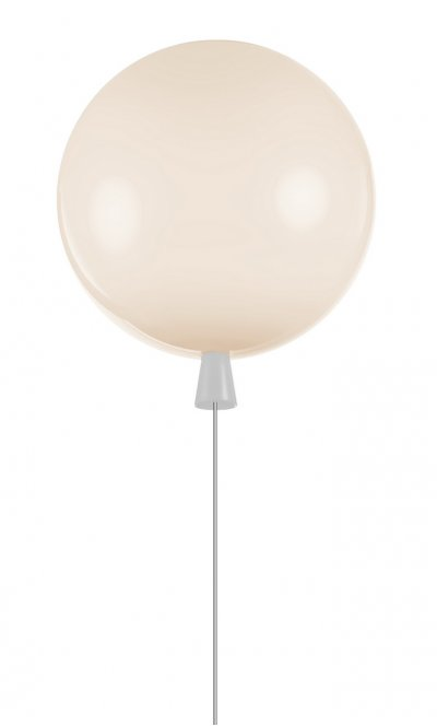 Светильник воздушный шар белый Loft it 5055C/Swhite 25смсовременные потолочные люстры модерн<br>Компания «Светодом» предлагает широкий ассортимент люстр от известных производителей. Представленные в нашем каталоге товары выполнены из современных материалов и обладают отличным качеством. Благодаря широкому ассортименту Вы сможете найти у нас люстру под любой интерьер. Мы предлагаем как классические варианты, так и современные модели, отличающиеся лаконичностью и простотой форм. <br>Стильная люстра Loft it 5055C/Syellow станет украшением любого дома. Эта модель от известного производителя не оставит равнодушным ценителей красивых и оригинальных предметов интерьера. Люстра Loft it 5055C/Syellow обеспечит равномерное распределение света по всей комнате. При выборе обратите внимание на характеристики, позволяющие приобрести наиболее подходящую модель. <br>Купить понравившуюся люстру по доступной цене Вы можете в интернет-магазине «Светодом». Мы предлагаем доставку не только по Москве и Екатеринбурге, но и по всей России.<br><br>Установка на натяжной потолок: Да<br>S освещ. до, м2: 3<br>Тип цоколя: E27<br>Цвет арматуры: Белый<br>Количество ламп: 1<br>MAX мощность ламп, Вт: 13