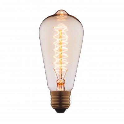 Ретро лампа Loft it 6440-CTЛампы накаливания ретро стиля<br>В интернет-магазине «Светодом» можно купить не только люстры и светильники, но и лампочки. В нашем каталоге представлены светодиодные, галогенные, энергосберегающие модели и лампы накаливания. В ассортименте имеются изделия разной мощности, поэтому у нас Вы сможете приобрести все необходимое для освещения. <br> Лампа Loft it 6440-CT обеспечит отличное качество освещения. При покупке ознакомьтесь с параметрами в разделе «Характеристики», чтобы не ошибиться в выборе. Там же указано, для каких осветительных приборов Вы можете использовать лампу Loft it 6440-CTLoft it 6440-CT. <br> Для оформления покупки воспользуйтесь «Корзиной». При наличии вопросов Вы можете позвонить нашим менеджерам по одному из контактных номеров. Мы доставляем заказы в Москву, Екатеринбург и другие города России.<br><br>Тип цоколя: E27<br>MAX мощность ламп, Вт: 40