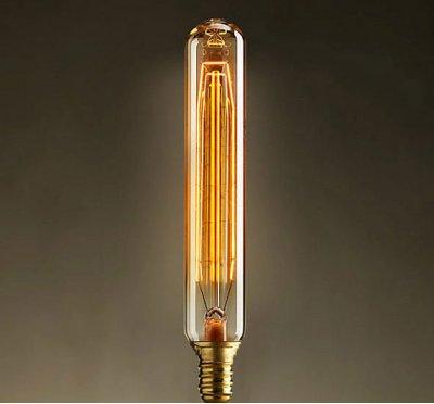 Ретро лампа Loft it 740-Hснятые с производства светильники<br>В интернет-магазине «Светодом» можно купить не только люстры и светильники, но и лампочки. В нашем каталоге представлены светодиодные, галогенные, энергосберегающие модели и лампы накаливания. В ассортименте имеются изделия разной мощности, поэтому у нас Вы сможете приобрести все необходимое для освещения. <br> Лампа Loft it 740-H обеспечит отличное качество освещения. При покупке ознакомьтесь с параметрами в разделе «Характеристики», чтобы не ошибиться в выборе. Там же указано, для каких осветительных приборов Вы можете использовать лампу Loft it 740-HLoft it 740-H. <br> Для оформления покупки воспользуйтесь «Корзиной». При наличии вопросов Вы можете позвонить нашим менеджерам по одному из контактных номеров. Мы доставляем заказы в Москву, Екатеринбург и другие города России.<br><br>Тип цоколя: E14<br>MAX мощность ламп, Вт: 40