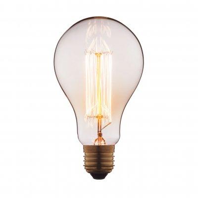 Ретро лампа Loft it 9560-SCЛампы накаливания ретро стиля<br>В интернет-магазине «Светодом» можно купить не только люстры и светильники, но и лампочки. В нашем каталоге представлены светодиодные, галогенные, энергосберегающие модели и лампы накаливания. В ассортименте имеются изделия разной мощности, поэтому у нас Вы сможете приобрести все необходимое для освещения. <br> Лампа Loft it 9560-SC обеспечит отличное качество освещения. При покупке ознакомьтесь с параметрами в разделе «Характеристики», чтобы не ошибиться в выборе. Там же указано, для каких осветительных приборов Вы можете использовать лампу Loft it 9560-SCLoft it 9560-SC. <br> Для оформления покупки воспользуйтесь «Корзиной». При наличии вопросов Вы можете позвонить нашим менеджерам по одному из контактных номеров. Мы доставляем заказы в Москву, Екатеринбург и другие города России.<br><br>Тип цоколя: E27<br>MAX мощность ламп, Вт: 60