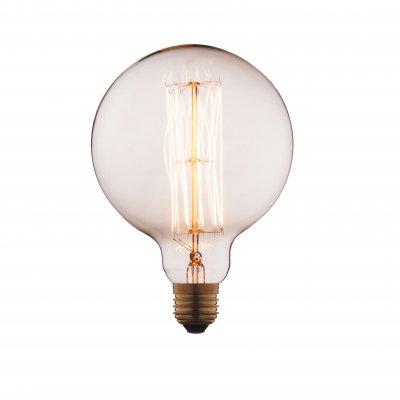 Ретро лампа Loft it G12560Ретро лампы<br>В интернет-магазине «Светодом» можно купить не только люстры и светильники, но и лампочки. В нашем каталоге представлены светодиодные, галогенные, энергосберегающие модели и лампы накаливания. В ассортименте имеются изделия разной мощности, поэтому у нас Вы сможете приобрести все необходимое для освещения. <br> Лампа Loft it G12560 обеспечит отличное качество освещения. При покупке ознакомьтесь с параметрами в разделе «Характеристики», чтобы не ошибиться в выборе. Там же указано, для каких осветительных приборов Вы можете использовать лампу Loft it G12560Loft it G12560. <br> Для оформления покупки воспользуйтесь «Корзиной». При наличии вопросов Вы можете позвонить нашим менеджерам по одному из контактных номеров. Мы доставляем заказы в Москву, Екатеринбург и другие города России.<br><br>Тип цоколя: E27<br>MAX мощность ламп, Вт: 60