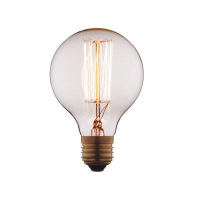 Ретро лампа Loft it G8040Лампы накаливания ретро стиля<br>В интернет-магазине «Светодом» можно купить не только люстры и светильники, но и лампочки. В нашем каталоге представлены светодиодные, галогенные, энергосберегающие модели и лампы накаливания. В ассортименте имеются изделия разной мощности, поэтому у нас Вы сможете приобрести все необходимое для освещения. <br> Лампа Loft it G8040 обеспечит отличное качество освещения. При покупке ознакомьтесь с параметрами в разделе «Характеристики», чтобы не ошибиться в выборе. Там же указано, для каких осветительных приборов Вы можете использовать лампу Loft it G8040Loft it G8040. <br> Для оформления покупки воспользуйтесь «Корзиной». При наличии вопросов Вы можете позвонить нашим менеджерам по одному из контактных номеров. Мы доставляем заказы в Москву, Екатеринбург и другие города России.<br><br>Тип цоколя: E27<br>MAX мощность ламп, Вт: 60