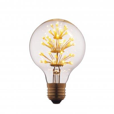 Ретро лампа Loft it G8047LEDЛампы накаливания ретро стиля<br>В интернет-магазине «Светодом» можно купить не только люстры и светильники, но и лампочки. В нашем каталоге представлены светодиодные, галогенные, энергосберегающие модели и лампы накаливания. В ассортименте имеются изделия разной мощности, поэтому у нас Вы сможете приобрести все необходимое для освещения. <br> Лампа Loft it G8047LED обеспечит отличное качество освещения. При покупке ознакомьтесь с параметрами в разделе «Характеристики», чтобы не ошибиться в выборе. Там же указано, для каких осветительных приборов Вы можете использовать лампу Loft it G8047LEDLoft it G8047LED. <br> Для оформления покупки воспользуйтесь «Корзиной». При наличии вопросов Вы можете позвонить нашим менеджерам по одному из контактных номеров. Мы доставляем заказы в Москву, Екатеринбург и другие города России.<br><br>Тип цоколя: E27<br>MAX мощность ламп, Вт: 3