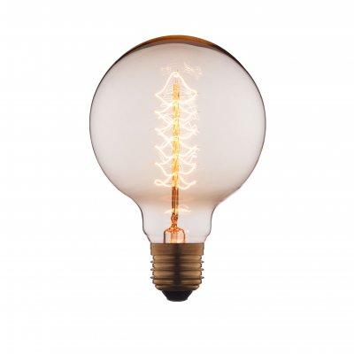 Ретро лампа Loft it G9540-FЛампы накаливания ретро стиля<br>В интернет-магазине «Светодом» можно купить не только люстры и светильники, но и лампочки. В нашем каталоге представлены светодиодные, галогенные, энергосберегающие модели и лампы накаливания. В ассортименте имеются изделия разной мощности, поэтому у нас Вы сможете приобрести все необходимое для освещения. <br> Лампа Loft it G9540-F обеспечит отличное качество освещения. При покупке ознакомьтесь с параметрами в разделе «Характеристики», чтобы не ошибиться в выборе. Там же указано, для каких осветительных приборов Вы можете использовать лампу Loft it G9540-FLoft it G9540-F. <br> Для оформления покупки воспользуйтесь «Корзиной». При наличии вопросов Вы можете позвонить нашим менеджерам по одному из контактных номеров. Мы доставляем заказы в Москву, Екатеринбург и другие города России.<br><br>Тип цоколя: E27<br>MAX мощность ламп, Вт: 40