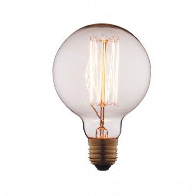 Ретро лампа Loft it G9540Лампы накаливания ретро стиля<br>В интернет-магазине «Светодом» можно купить не только люстры и светильники, но и лампочки. В нашем каталоге представлены светодиодные, галогенные, энергосберегающие модели и лампы накаливания. В ассортименте имеются изделия разной мощности, поэтому у нас Вы сможете приобрести все необходимое для освещения. <br> Лампа Loft it G9540 обеспечит отличное качество освещения. При покупке ознакомьтесь с параметрами в разделе «Характеристики», чтобы не ошибиться в выборе. Там же указано, для каких осветительных приборов Вы можете использовать лампу Loft it G9540Loft it G9540. <br> Для оформления покупки воспользуйтесь «Корзиной». При наличии вопросов Вы можете позвонить нашим менеджерам по одному из контактных номеров. Мы доставляем заказы в Москву, Екатеринбург и другие города России.<br><br>Тип цоколя: E27<br>MAX мощность ламп, Вт: 40