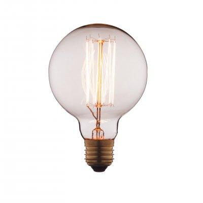 Ретро лампа Loft it G9560Ретро лампы<br>В интернет-магазине «Светодом» можно купить не только люстры и светильники, но и лампочки. В нашем каталоге представлены светодиодные, галогенные, энергосберегающие модели и лампы накаливания. В ассортименте имеются изделия разной мощности, поэтому у нас Вы сможете приобрести все необходимое для освещения. <br> Лампа Loft it G9560 обеспечит отличное качество освещения. При покупке ознакомьтесь с параметрами в разделе «Характеристики», чтобы не ошибиться в выборе. Там же указано, для каких осветительных приборов Вы можете использовать лампу Loft it G9560Loft it G9560. <br> Для оформления покупки воспользуйтесь «Корзиной». При наличии вопросов Вы можете позвонить нашим менеджерам по одному из контактных номеров. Мы доставляем заказы в Москву, Екатеринбург и другие города России.<br><br>Тип цоколя: E27<br>MAX мощность ламп, Вт: 60