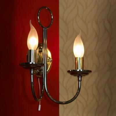 Светильник Lussole lsa-4611-02Рустика<br>В интернет-магазине «Светодом» представлен широкий выбор настенных бра по привлекательной цене. Это качественные товары от популярных мировых производителей. Благодаря большому ассортименту Вы обязательно подберете под свой интерьер наиболее подходящий вариант.  Оригинальное настенное бра Lussole LSA-4611-02 можно использовать для освещения не только гостиной, но и прихожей или спальни. Модель выполнена из современных материалов, поэтому прослужит на протяжении долгого времени. Обратите внимание на технические характеристики, чтобы сделать правильный выбор.  Чтобы купить настенное бра Lussole LSA-4611-02 в нашем интернет-магазине, воспользуйтесь «Корзиной» или позвоните менеджерам компании «Светодом» по указанным на сайте номерам. Мы доставляем заказы по Москве, Екатеринбургу и другим российским городам.<br><br>S освещ. до, м2: 6<br>Тип лампы: накаливания / энергосбережения / LED-светодиодная<br>Тип цоколя: E14<br>Количество ламп: 2<br>Ширина, мм: 120<br>MAX мощность ламп, Вт: 40<br>Длина, мм: 310<br>Высота, мм: 320<br>Цвет арматуры: золотой