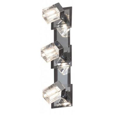 Светильник lussole lsn-0601-03Тройные<br>Светильники-споты – это оригинальные изделия с современным дизайном. Они позволяют не ограничивать свою фантазию при выборе освещения для интерьера. Такие модели обеспечивают достаточно качественный свет. Благодаря компактным размерам Вы можете использовать несколько спотов для одного помещения.  Интернет-магазин «Светодом» предлагает необычный светильник-спот Lussole LSN-0601-03 по привлекательной цене. Эта модель станет отличным дополнением к люстре, выполненной в том же стиле. Перед оформлением заказа изучите характеристики изделия.  Купить светильник-спот Lussole LSN-0601-03 в нашем онлайн-магазине Вы можете либо с помощью формы на сайте, либо по указанным выше телефонам. Обратите внимание, что мы предлагаем доставку не только по Москве и Екатеринбургу, но и всем остальным российским городам.<br><br>S освещ. до, м2: 8<br>Скидка, %: 13<br>Тип лампы: галогенная / LED-светодиодная<br>Тип цоколя: G9<br>Количество ламп: 3<br>Ширина, мм: 100<br>MAX мощность ламп, Вт: 40<br>Длина, мм: 420<br>Высота, мм: 150<br>Цвет арматуры: серебристый