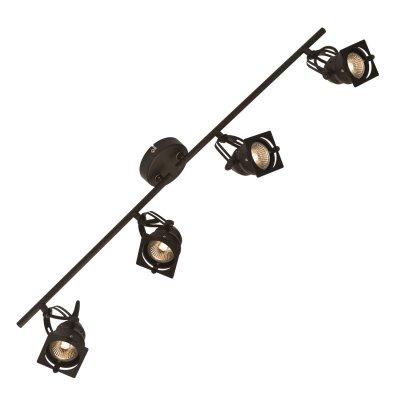 Светильник на штанге Loft LSP-9119споты 4 лампы<br>Светильники-споты – это оригинальные изделия с современным дизайном. Они позволяют не ограничивать свою фантазию при выборе освещения для интерьера. Такие модели обеспечивают достаточно качественный свет. Благодаря компактным размерам Вы можете использовать несколько спотов для одного помещения. <br>Интернет-магазин «Светодом» предлагает необычный светильник-спот Loft Loft LSP-9119 по привлекательной цене. Эта модель станет отличным дополнением к люстре, выполненной в том же стиле. Перед оформлением заказа изучите характеристики изделия. <br>Купить светильник-спот Loft Loft LSP-9119 в нашем онлайн-магазине Вы можете либо с помощью формы на сайте, либо по указанным выше телефонам. Обратите внимание, что у нас склады не только в Москве и Екатеринбурге, но и других городах России.<br><br>S освещ. до, м2: 13<br>Тип цоколя: Gu10<br>Цвет арматуры: коричневый<br>Количество ламп: 4<br>MAX мощность ламп, Вт: 50