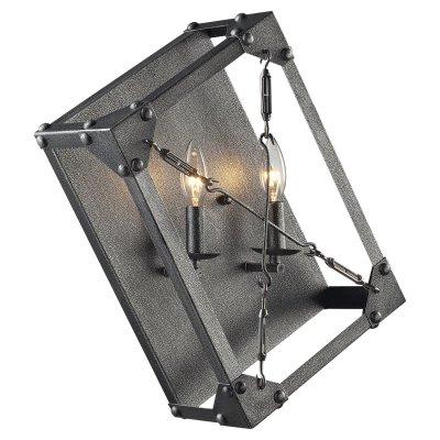 Светильник бра Loft LSP-9182Кованые<br>В интернет-магазине «Светодом» представлен широкий выбор настенных бра по привлекательной цене. Это качественные товары от популярных мировых производителей. Благодаря большому ассортименту Вы обязательно подберете под свой интерьер наиболее подходящий вариант. <br>Оригинальное настенное бра Loft Loft LSP-9182 можно использовать для освещения не только гостиной, но и прихожей или спальни. Модель выполнена из современных материалов, поэтому прослужит на протяжении долгого времени. Обратите внимание на технические характеристики, чтобы сделать правильный выбор. <br>Чтобы купить настенное бра Loft Loft LSP-9182 в нашем интернет-магазине, воспользуйтесь «Корзиной» или позвоните менеджерам компании «Светодом» по указанным на сайте номерам. Мы доставляем заказы по Москве, Екатеринбургу и другим российским городам.<br><br>S освещ. до, м2: 5<br>Тип лампы: накаливания / энергосбережения / LED-светодиодная<br>Тип цоколя: E14<br>Количество ламп: 2<br>Ширина, мм: 410<br>MAX мощность ламп, Вт: 40<br>Расстояние от стены, мм: 160<br>Высота, мм: 460<br>Цвет арматуры: серый