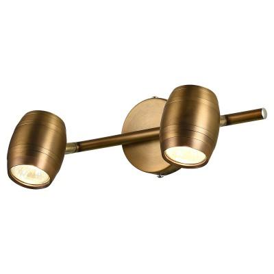 Светильник LSP-9567двойные светильники споты<br>Светильник LSP-9567 отличается поворотной способностью регулировки светового потока и сделает Ваше помещение современным, стильным и запоминающимся! Наиболее функционально и эстетически привлекательно модель будет смотреться в гостиной, зале, холле или другой комнате. А в комплекте с люстрой, бра или торшером из этой же коллекции сделает интерьер по-дизайнерски профессиональным и законченным.