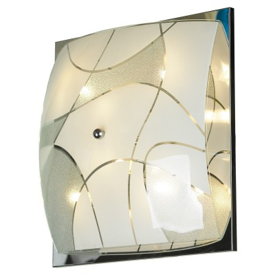 Светильник настенно-потолочный Lussole LSQ-2502-06 NUMANAквадратные светильники<br>Элегантный настенно-потолочный светильник Lussole LSQ-2502-06 классической квадратной формы станет прекрасным дополнением к световому оформлению любого современного интерьера! Его можно использовать в единичном экземпляре, а можно, скомбинировав несколько светильников, создать уникальную «композицию», которая сделает комнату неповторимой и «авторской». Универсальная конструкция и светлые оттенки легко впишутся в любую цветовую гамму и в различные по функциональному назначению помещения – от прихожей до спальни. Благодаря «цельному» плафону, светильник легко очистить от загрязнений – достаточно протереть поверхность влажной салфеткой, поэтому его можно смело использовать даже на кухне.