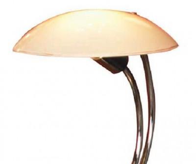 Настольная лампа Lussole LSQ-4304-01 MATTINAсоветские настольные лампы СССР<br>Очень изящный и искусно выполненный итальянский светильник LUSSOLE LSQ-4304-01 MATTINA  - это желанное приобретение для всех ценителей тонкой и романтичной красоты! Благодаря матовому белому плафону, освещение получается мягким и рассеянным, а отсутствие креплений позволяет установить светильник в считанные мгновения, и в любой момент при необходимости вы сможете переставить его в другое место и также легко подключить!