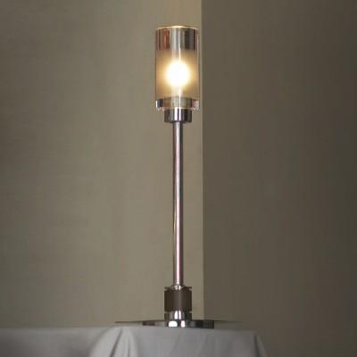 Настольная лампа Lussole LSQ-5604-01 AltamuraХай тек<br>Настольная лампа призвана освещать любую поверхность достойным потоком лучей. Однако при этом нам хочется ощущать вдохновенный порыв приятной эстетики от наблюдения за представленным изделием. Предлагаем Вам познакомиться с прекрасным творением Lussole LSQ-5604-01. Это настольная лампа в стиле модерн: лаконичная, практичная и модная! Превосходное приобретение для квартиры, дома и офиса! Вся конструкция состоит из удлинённого хромированного основания с деревянными элементами и плафона, выполненного в сочетании прозрачного и матового стекла. Поэтому если Вы желаете дополнить свой интерьер не просто ярким светом, но и стильным аксессуаром, удачное время<br><br>S освещ. до, м2: 3<br>Тип лампы: галогенная / LED-светодиодная<br>Тип цоколя: G9<br>Количество ламп: 1<br>Ширина, мм: 100<br>MAX мощность ламп, Вт: 40<br>Высота, мм: 340<br>Оттенок (цвет): белый<br>Цвет арматуры: серебристый