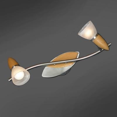 Светильник поворотный спот Lussole LSQ-6411-02 CISTERINOдвойные светильники споты<br>Светильники-споты – это оригинальные изделия с современным дизайном. Они позволяют не ограничивать свою фантазию при выборе освещения для интерьера. Такие модели обеспечивают достаточно качественный свет. Благодаря компактным размерам Вы можете использовать несколько спотов для одного помещения. <br>Интернет-магазин «Светодом» предлагает необычный светильник-спот Lussole LSQ-6411-02 по привлекательной цене. Эта модель станет отличным дополнением к люстре, выполненной в том же стиле. Перед оформлением заказа изучите характеристики изделия. <br>Купить светильник-спот Lussole LSQ-6411-02 в нашем онлайн-магазине Вы можете либо с помощью формы на сайте, либо по указанным выше телефонам. Обратите внимание, что у нас склады не только в Москве и Екатеринбурге, но и других городах России.<br><br>S освещ. до, м2: 6<br>Тип лампы: накал-я - энергосбер-я<br>Тип цоколя: E14<br>Цвет арматуры: деревянный<br>Количество ламп: 2<br>Ширина, мм: 150<br>Расстояние от стены, мм: 200<br>Высота, мм: 480<br>MAX мощность ламп, Вт: 40