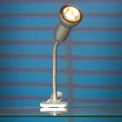 Настольная лампа на прищепке Lussole lst-4564-01На прищепке<br>Настольная лампа – это не просто источник дополнительного освещения, но и оригинальный элемент декора. Его можно установить в спальне, гостиной, кабинете и других комнатах. Интернет-магазин «Светодом» предлагает настольные лампы разных стилей по доступным ценам. Благодаря большому ассортименту Вы обязательно найдете в нашем каталоге именно ту модель, которую искали. <br> Настольная лампа Lussole LST-4564-01 – прекрасный вариант для завершения интерьера. Ее можно включить одновременно с люстрой для более яркого освещения или без нее для создания уютной атмосферы, настраивающей на отдых. <br> Купить настольную лампу Lussole LST-4564-01 Вы можете с помощью виртуальной «Корзины» или по контактным номерам, указанным на сайте.<br><br>S освещ. до, м2: 3<br>Тип лампы: накаливания / энергосбережения / LED-светодиодная<br>Тип цоколя: R50<br>Количество ламп: 1<br>Ширина, мм: 110<br>MAX мощность ламп, Вт: 40<br>Высота, мм: 370<br>Цвет арматуры: серый