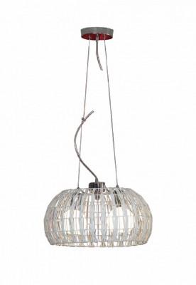 Светильник подвесной Lussole LSX-4103-02 FENIGLIодиночные подвесные светильники<br>Порой оригинальность светильника может определяться даже простотой, обрамлённой в аккуратную своеобразность. Именно таким лаконичным, но нестандартным творением итальянских мастеров является изделие Lussole Lsx-4103-02. Перед Вами подвесной светильник, обрамлённый в витиеватые переплетения, где нет сплошного плафона или громоздкого декора. Творение Lussole Lsx-4103-02 создано для того, чтобы дарить насыщенный свет и гармонично сочетаться с любым интерьером, в частности, иными цветовыми решениями. Только представьте, каким бы ни был колор на стенах Вашего пространства, он станет единым целым со светом. Такой поворот событий очень выигрышен для каждого интерьера, требующего гармонии.