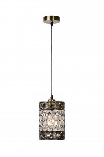 Светильник Lucide 02305/14/03одиночные подвесные светильники<br><br><br>S освещ. до, м2: 3<br>Тип лампы: Накаливания / энергосбережения / светодиодная<br>Тип цоколя: E27<br>Количество ламп: 1<br>Диаметр, мм мм: 140<br>Высота, мм: 1505<br>MAX мощность ламп, Вт: 60