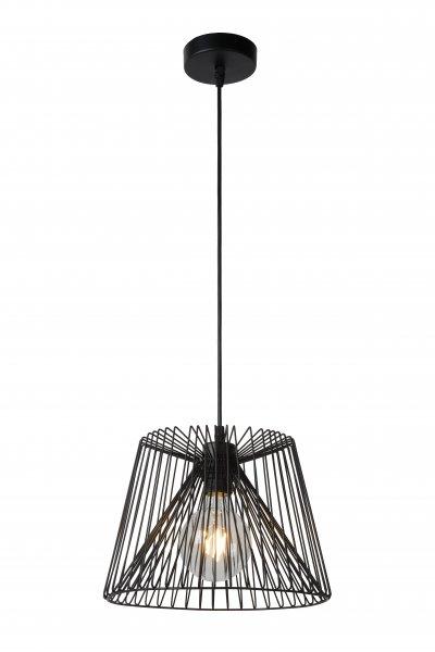 Светильник Lucide 02401/28/30Подвесные<br><br><br>Установка на натяжной потолок: Да<br>S освещ. до, м2: 3<br>Тип лампы: Накаливания / энергосбережения / светодиодная<br>Тип цоколя: E27<br>Количество ламп: 1<br>Диаметр, мм мм: 285<br>Высота, мм: 1500<br>MAX мощность ламп, Вт: 60