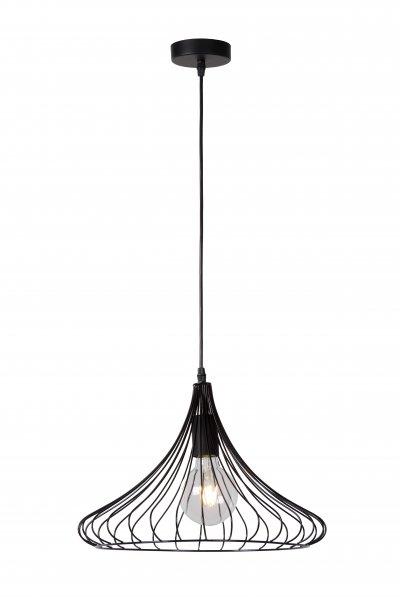 Светильник Lucide 02402/40/30одиночные подвесные светильники<br><br><br>S освещ. до, м2: 3<br>Тип лампы: Накаливания / энергосбережения / светодиодная<br>Тип цоколя: E27<br>Количество ламп: 1<br>Диаметр, мм мм: 395<br>Высота, мм: 1560<br>MAX мощность ламп, Вт: 60