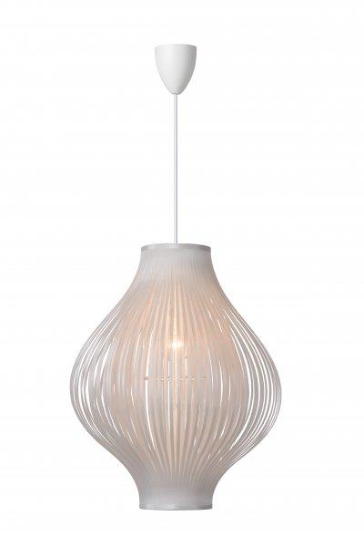 Светильник Lucide 06408/01/31одиночные подвесные светильники<br><br><br>S освещ. до, м2: 3<br>Тип лампы: Накаливания / энергосбережения / светодиодная<br>Тип цоколя: E27<br>Количество ламп: 1<br>Диаметр, мм мм: 360<br>Высота, мм: 440 - 1250<br>MAX мощность ламп, Вт: 60