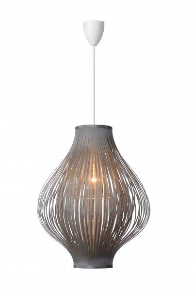 Светильник Lucide 06408/01/36Одиночные<br><br><br>S освещ. до, м2: 3<br>Тип лампы: Накаливания / энергосбережения / светодиодная<br>Тип цоколя: E27<br>Количество ламп: 1<br>Диаметр, мм мм: 360<br>Высота, мм: 440 - 1250<br>MAX мощность ламп, Вт: 60