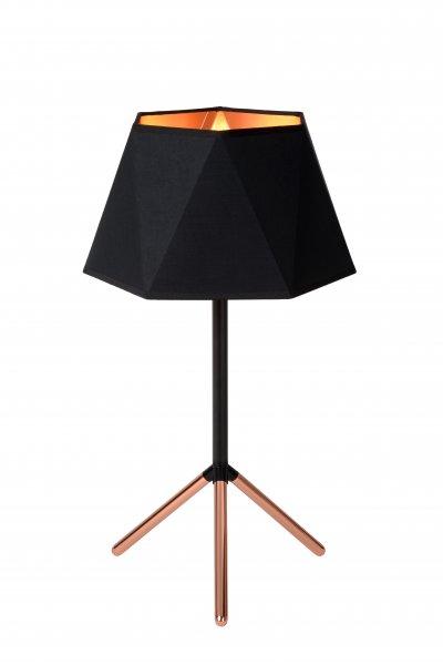 Lucide ALEGRO 06517/01/30 настольная лампаОжидается<br><br><br>Тип цоколя: E14<br>Цвет арматуры: медный/черный<br>Количество ламп: 1<br>Ширина, мм: 320<br>Высота, мм: 570