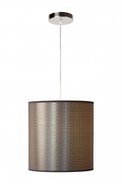 Светильник Lucide 08400/30/36Одиночные<br><br><br>S освещ. до, м2: 3<br>Тип лампы: Накаливания / энергосбережения / светодиодная<br>Тип цоколя: E27<br>Цвет арматуры: серебристый хром<br>Количество ламп: 1<br>Диаметр, мм мм: 300<br>Высота, мм: 300 - 1200<br>MAX мощность ламп, Вт: 60