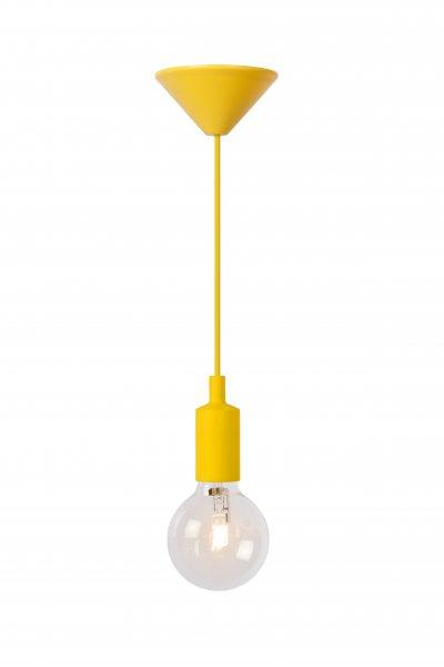 Светильник Lucide 08408/21/34одиночные подвесные светильники<br><br><br>S освещ. до, м2: 2<br>Тип лампы: Накаливания / энергосбережения / светодиодная<br>Тип цоколя: E27<br>Количество ламп: 1<br>Высота, мм: 1200<br>MAX мощность ламп, Вт: 60