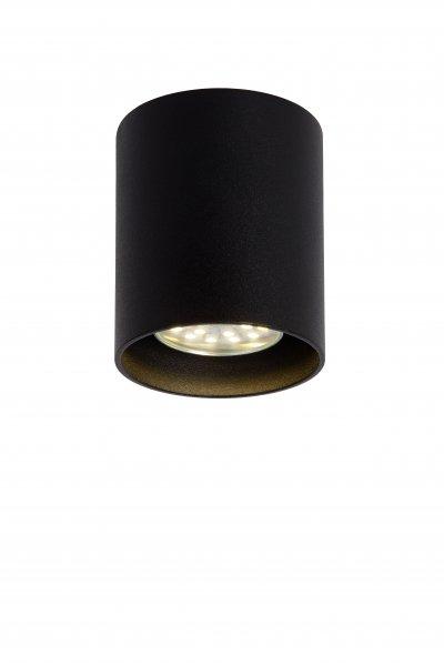 Светильник Lucide 09100/01/30Накладные точечные<br><br><br>S освещ. до, м2: 3<br>Тип лампы: галогенная/LED<br>Тип цоколя: GU10<br>Количество ламп: 1<br>Диаметр, мм мм: 80<br>Высота, мм: 95<br>MAX мощность ламп, Вт: 50