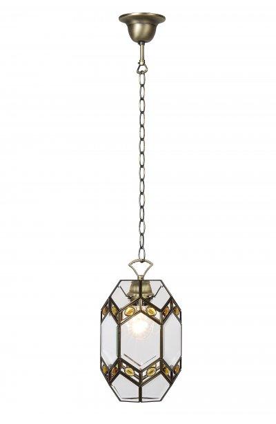 подвес Lucide 15353/01/03 ANTALLYAодиночные подвесные светильники<br><br><br>Установка на натяжной потолок: Да<br>S освещ. до, м2: 4<br>Крепление: Крюк<br>Тип лампы: накаливания / энергосбережения / LED-светодиодная<br>Тип цоколя: E27<br>Цвет арматуры: бронзовый<br>Количество ламп: 1<br>Диаметр, мм мм: 200<br>Высота, мм: 1200<br>Оттенок (цвет): прозрачный<br>MAX мощность ламп, Вт: 60