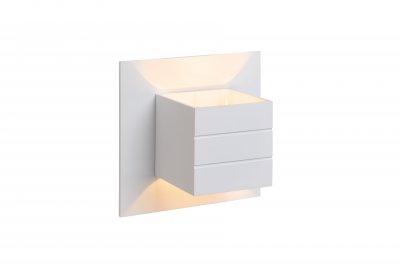 Светильник Lucide 17282/11/31Бра хай тек стиля<br><br><br>Тип лампы: галогенная/LED<br>Тип цоколя: G9<br>Количество ламп: 1<br>Ширина, мм: 109<br>Длина, мм: 150<br>Высота, мм: 150<br>MAX мощность ламп, Вт: 50