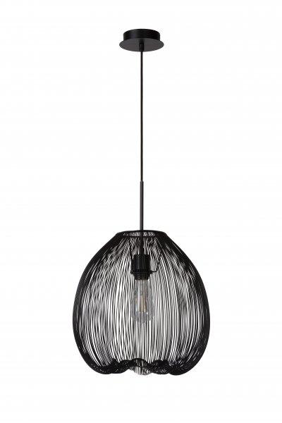 Lucide WIRIO 20401/35/30 подвесной светильникОжидается<br><br><br>S освещ. до, м2: 3<br>Тип цоколя: E27<br>Цвет арматуры: черный<br>Количество ламп: 1<br>Ширина, мм: 460<br>Высота, мм: 500