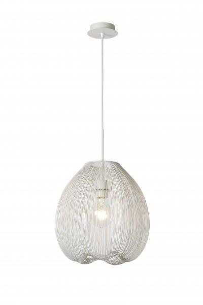 Lucide WIRIO 20401/35/31 подвесной светильникОжидается<br><br><br>S освещ. до, м2: 3<br>Тип цоколя: E27<br>Цвет арматуры: белый<br>Количество ламп: 1<br>Ширина, мм: 360<br>Высота, мм: 250