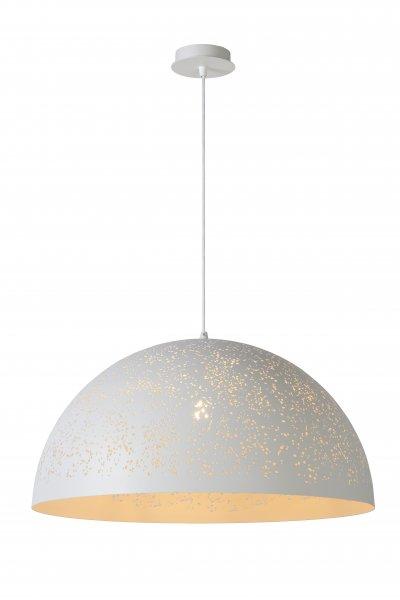 Lucide ETERNAL 21406/60/31 подвесной светильникОжидается<br><br><br>S освещ. до, м2: 3<br>Тип цоколя: E27<br>Цвет арматуры: белый<br>Количество ламп: 1<br>Ширина, мм: 600<br>Высота, мм: 1600