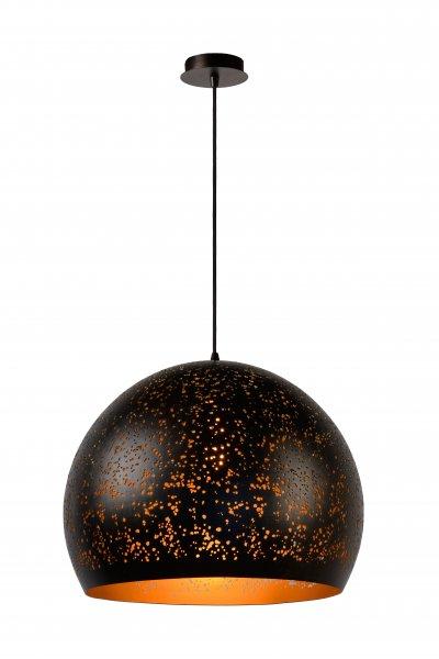 Lucide ETERNAL 21407/50/97 подвесной светильникОжидается<br><br><br>S освещ. до, м2: 3<br>Тип цоколя: E27<br>Цвет арматуры: черный<br>Количество ламп: 1<br>Ширина, мм: 500<br>Высота, мм: 1750