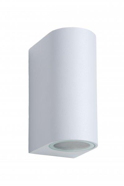 Светильник Lucide 22861/10/31уличные настенные светильники<br><br><br>Тип лампы: галогенная/LED<br>Тип цоколя: GU10<br>Количество ламп: 1<br>Ширина, мм: 65<br>Расстояние от стены, мм: 90<br>Высота, мм: 150