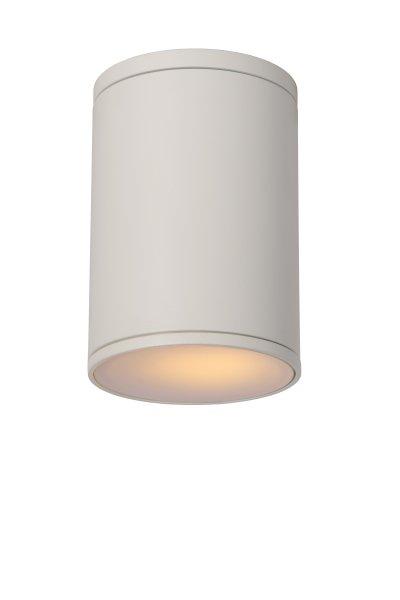 Светильник Lucide 27870/01/31накладные точечные светильники<br><br><br>S освещ. до, м2: 3<br>Тип лампы: накал-я - энергосбер-я<br>Тип цоколя: E27<br>Цвет арматуры: белый<br>Количество ламп: 1<br>Диаметр, мм мм: 108<br>Высота, мм: 155<br>MAX мощность ламп, Вт: 60