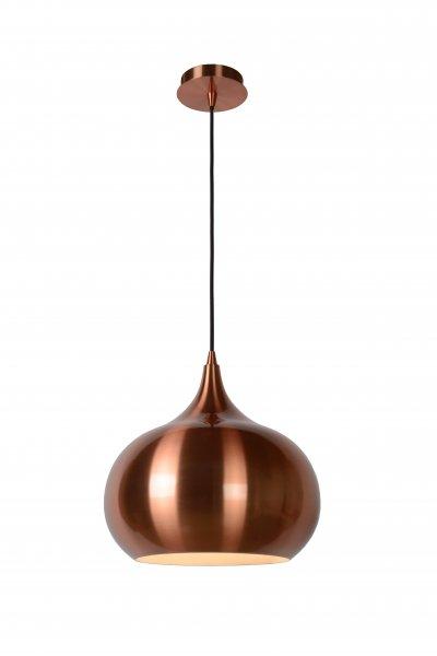 Светильник Lucide 31412/33/17одиночные подвесные светильники<br><br><br>S освещ. до, м2: 3<br>Тип лампы: Накаливания / энергосбережения / светодиодная<br>Тип цоколя: E27<br>Количество ламп: 1<br>Диаметр, мм мм: 330<br>Высота, мм: 350 - 1580<br>MAX мощность ламп, Вт: 60