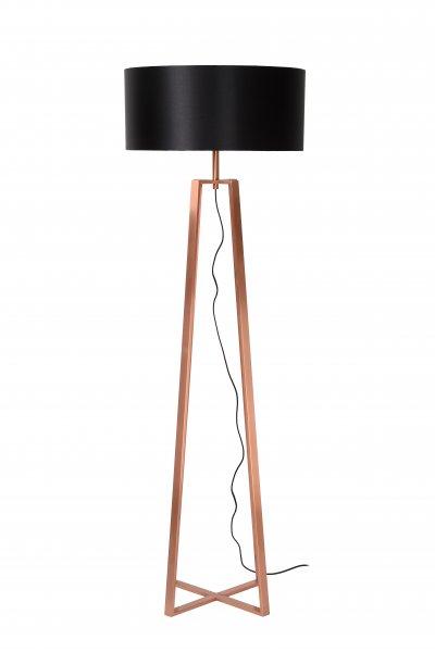 Торшер Lucide 31798/81/17Современные<br><br><br>Тип лампы: Накаливания / энергосбережения / светодиодная<br>Тип цоколя: E27<br>Цвет арматуры: медный<br>Количество ламп: 1<br>Диаметр, мм мм: 500<br>Высота, мм: 1530<br>MAX мощность ламп, Вт: 60
