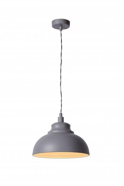 Светильник Lucide 34400/29/36одиночные подвесные светильники<br><br><br>S освещ. до, м2: 3<br>Тип лампы: Накаливания / энергосбережения / светодиодная<br>Тип цоколя: E14<br>Количество ламп: 1<br>Диаметр, мм мм: 290<br>Высота, мм: 1220<br>MAX мощность ламп, Вт: 60