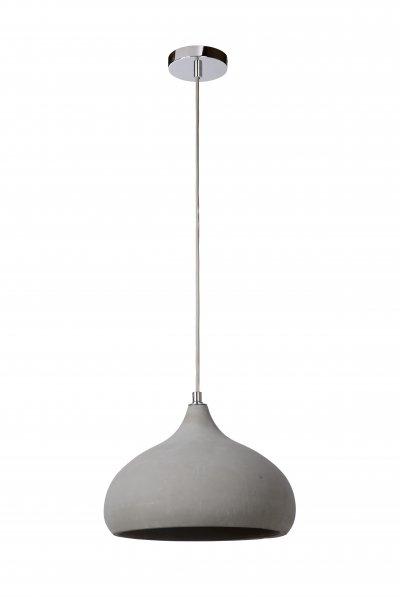 Светильник Lucide 34403/28/41одиночные подвесные светильники<br><br><br>S освещ. до, м2: 3<br>Тип лампы: Накаливания / энергосбережения / светодиодная<br>Тип цоколя: E14<br>Цвет арматуры: серебристый хром<br>Количество ламп: 1<br>Ширина, мм: 280<br>Высота, мм: 1550<br>MAX мощность ламп, Вт: 60