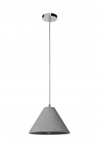 Светильник Lucide 34404/25/41одиночные подвесные светильники<br><br><br>S освещ. до, м2: 3<br>Тип лампы: Накаливания / энергосбережения / светодиодная<br>Тип цоколя: E14<br>Цвет арматуры: серебристый хром<br>Количество ламп: 1<br>Диаметр, мм мм: 250<br>Высота, мм: 1500<br>MAX мощность ламп, Вт: 60