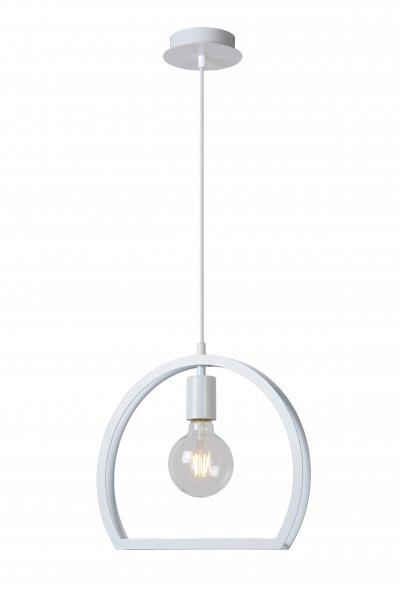 Светильник Lucide 34418/27/31одиночные подвесные светильники<br><br><br>S освещ. до, м2: 3<br>Тип лампы: Накаливания / энергосбережения / светодиодная<br>Тип цоколя: E27<br>Количество ламп: 1<br>Диаметр, мм мм: 340<br>Высота, мм: 1630<br>MAX мощность ламп, Вт: 60
