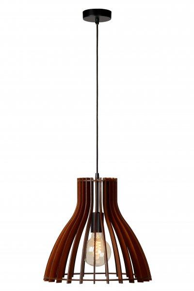 Светильник Lucide 34425/35/70одиночные подвесные светильники<br><br><br>S освещ. до, м2: 3<br>Тип лампы: Накаливания / энергосбережения / светодиодная<br>Тип цоколя: E27<br>Количество ламп: 1<br>Диаметр, мм мм: 35<br>Высота, мм: 1630<br>MAX мощность ламп, Вт: 60